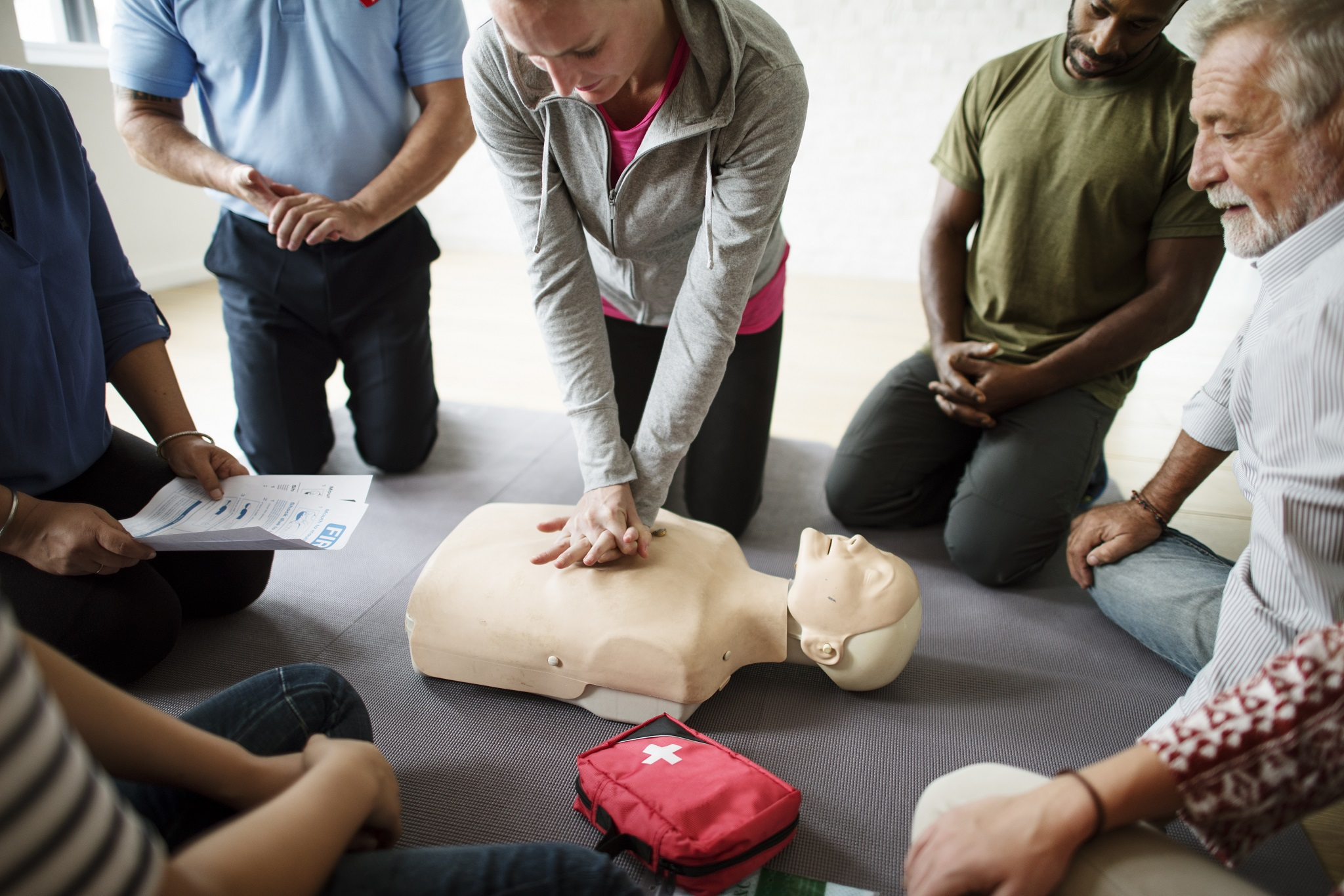 CPR, AED and Basic First Aid